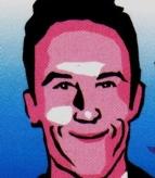 image of Peter Hanami in cartoon style