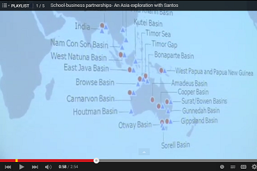 Asia exploration with Santos video screenshot