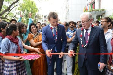 andrew-robb-and-adam-gilchrist-inaugurate-the-new-sports-field-at-bluebells-school-new-delhi-370