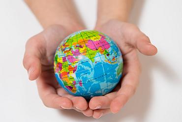 Globe in hands 370x247