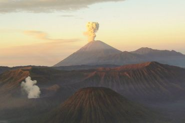 Mahameru volcano