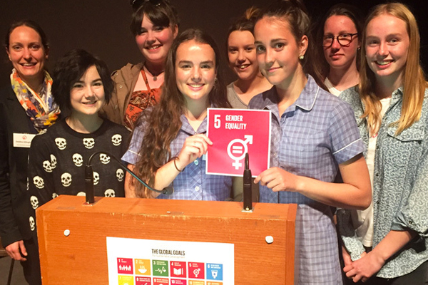 Students at the Global Goals Youth Forum