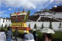 Potala Palace located in Lhasa, Tibet