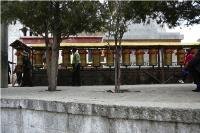 Prayer Wheels located in Lhasa, Tibet