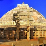Small image of the Sanchi stupa