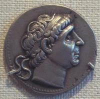 Medallion with head of Antiochus