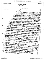Paper copy of inscription of edicts at Dhaulaci