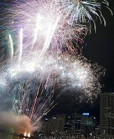 A display of Chinese New Year fireworks in Sydney in 2011