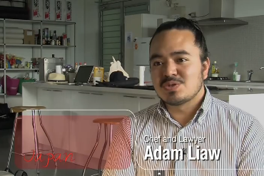 Adam Liaw, Chef and lawyer