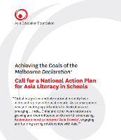 Call for a National Action Plan for Asia Literacy