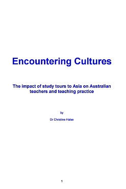 Encountering Cultures by Christine Halse